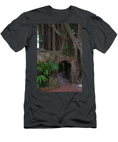 Men's T-Shirt (Slim Fit) featuring the photograph Fort West Martello by Greg Graham
