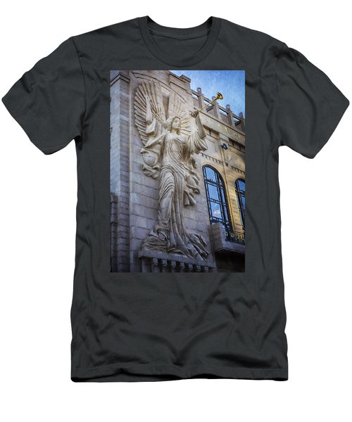 Fort Worth Impressions Bass Hall Angel Men's T-Shirt (Athletic Fit)