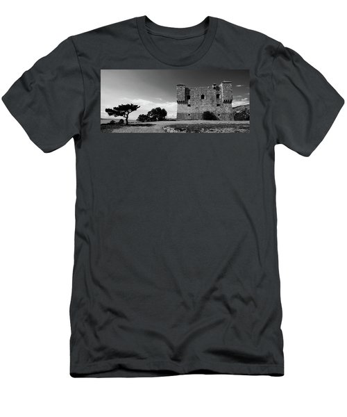 Men's T-Shirt (Athletic Fit) featuring the photograph Fortress Nehaj In Senj by Davor Zerjav