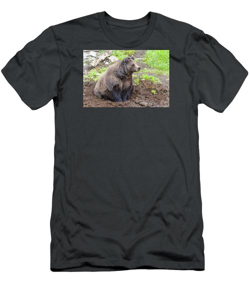 Found A Hole Men's T-Shirt (Slim Fit) by Harold Piskiel