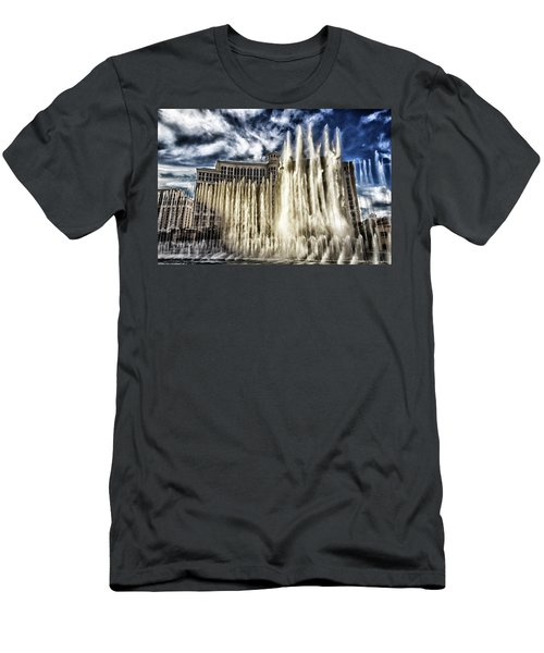 Fountain Of Love Men's T-Shirt (Athletic Fit)