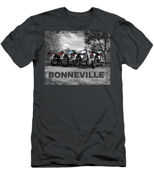 Four Bonnevilles Men's T-Shirt (Athletic Fit)