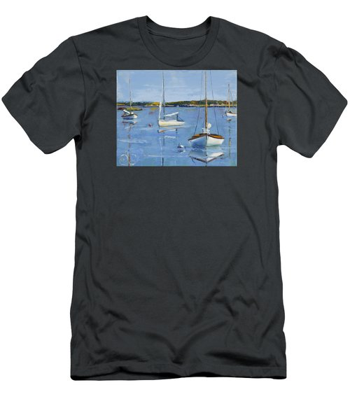 Four Daysailers Men's T-Shirt (Slim Fit) by Trina Teele