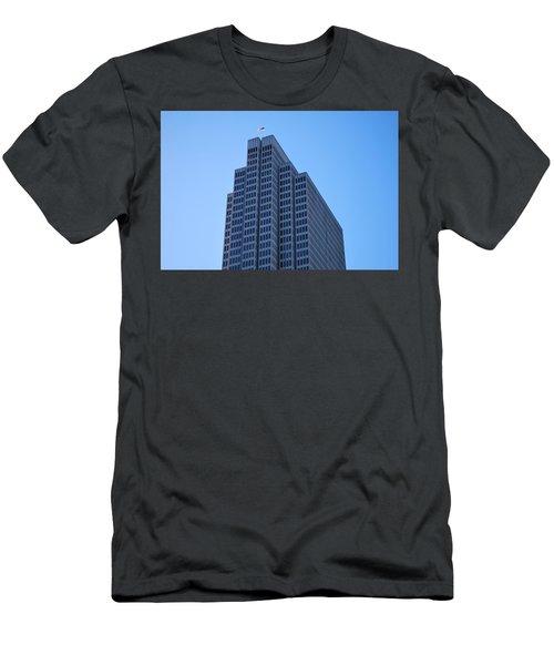 Four Embarcadero Center Office Building - San Francisco Men's T-Shirt (Slim Fit) by Matt Harang