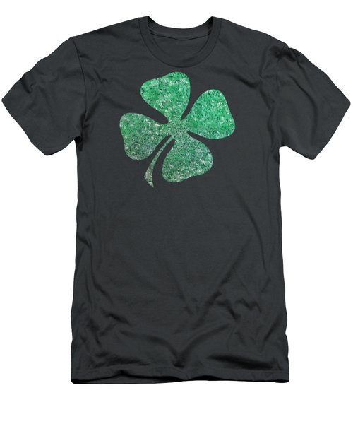 Four Leaf Clover Men's T-Shirt (Athletic Fit)