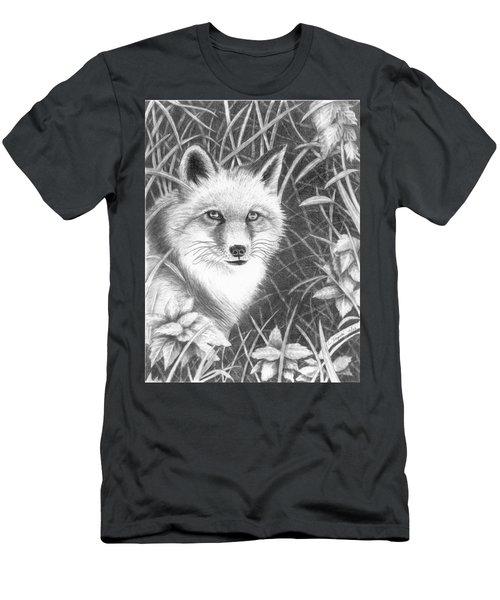 Fox Men's T-Shirt (Slim Fit) by Lawrence Tripoli