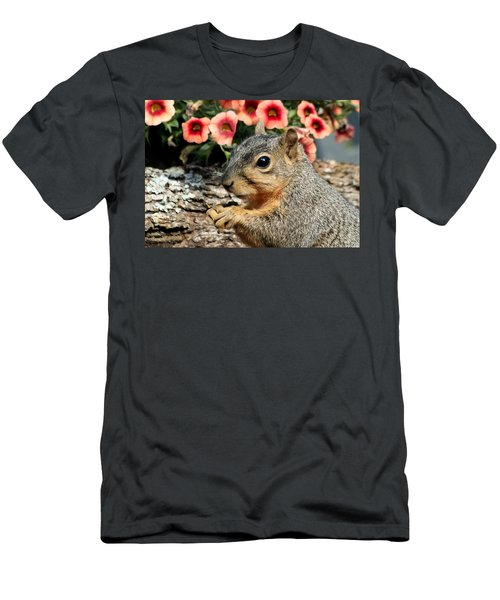 Fox Squirrel Portrait Men's T-Shirt (Athletic Fit)