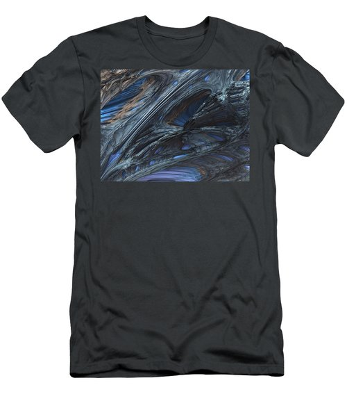Fractal Structure 002 Men's T-Shirt (Athletic Fit)