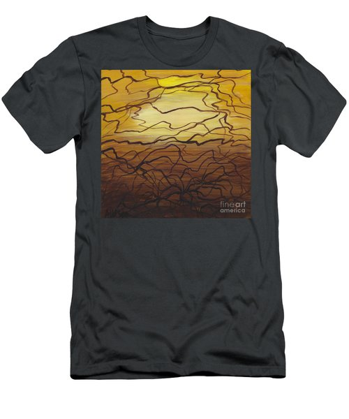 Fractured  Men's T-Shirt (Athletic Fit)