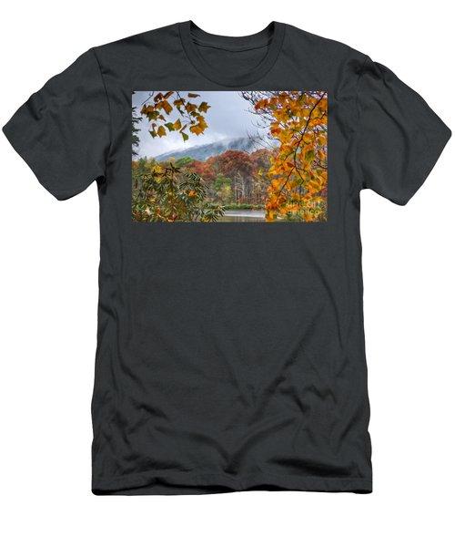 Framed By Fall Men's T-Shirt (Slim Fit) by Kerri Farley