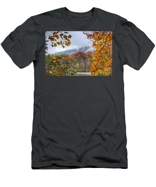Framed By Fall Men's T-Shirt (Athletic Fit)