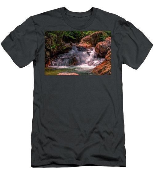 Franconia Notch 2 Men's T-Shirt (Slim Fit) by Sherman Perry