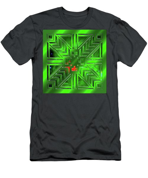 Frank Lloyd Wright Design Men's T-Shirt (Athletic Fit)