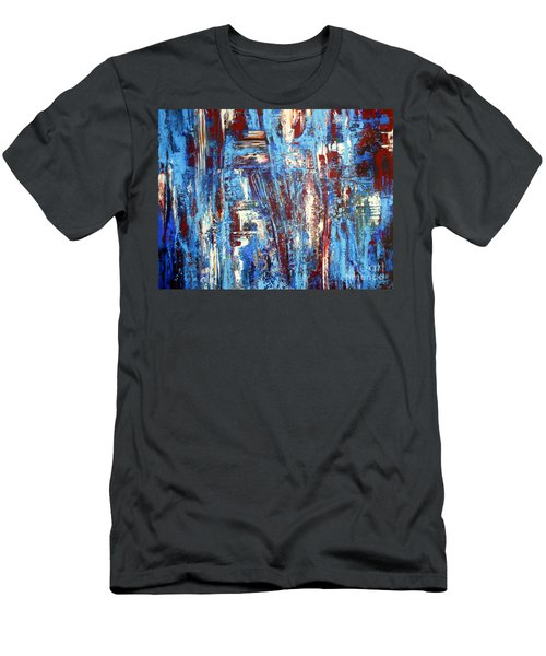 Freedom Of Expression Men's T-Shirt (Slim Fit) by Valerie Travers