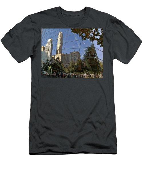Ground Zero Reflection Men's T-Shirt (Slim Fit)