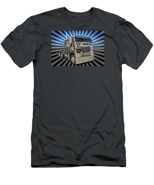 Men's T-Shirt (Slim Fit) featuring the photograph Freightliner by Keith Hawley