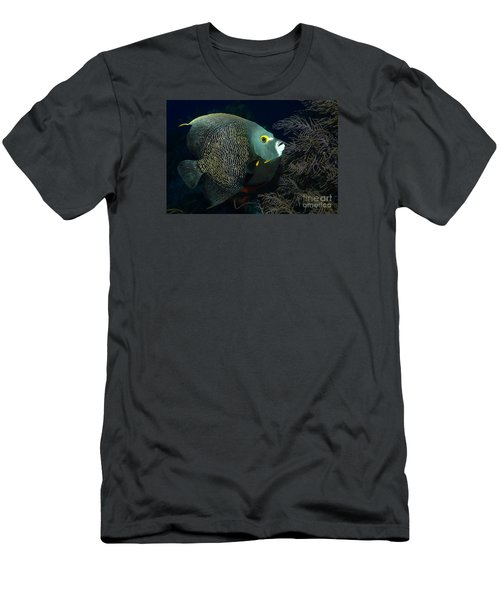Men's T-Shirt (Slim Fit) featuring the photograph French Angel by Aaron Whittemore