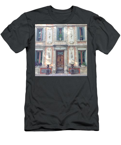 French Door Men's T-Shirt (Slim Fit) by Catherine Alfidi
