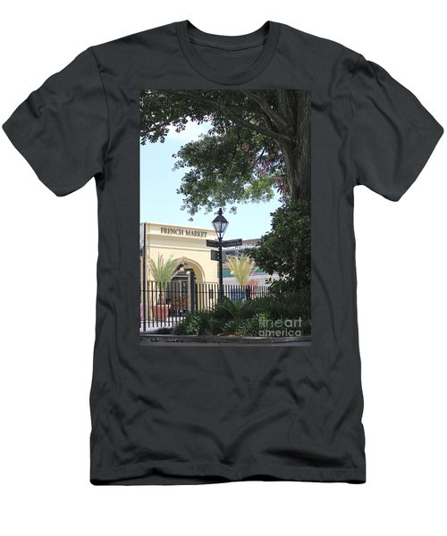 French Market Men's T-Shirt (Athletic Fit)