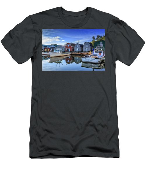 French River Prince Edward Island Men's T-Shirt (Athletic Fit)