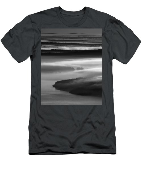 Frenchman's Bay Recursion Men's T-Shirt (Athletic Fit)