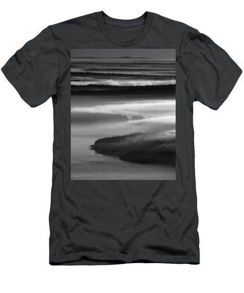 Frenchman's Bay Recursion Men's T-Shirt (Athletic Fit)
