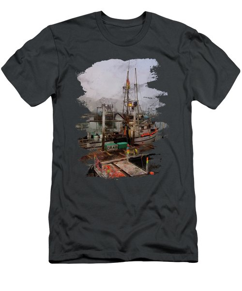 Fresh Live Crab Men's T-Shirt (Athletic Fit)