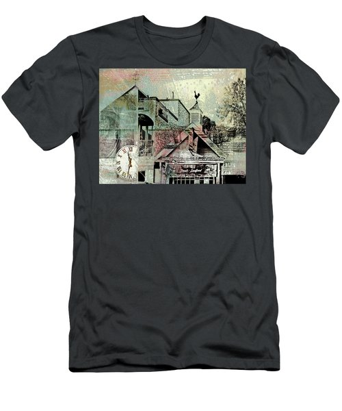 Men's T-Shirt (Slim Fit) featuring the photograph Fresh Seafood by Susan Stone