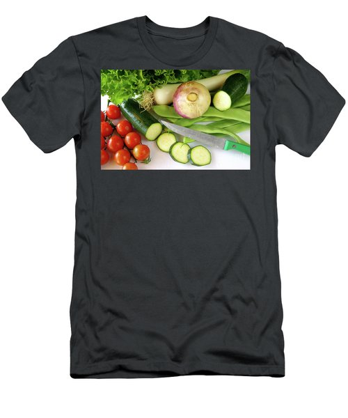 Fresh Vegetables Men's T-Shirt (Athletic Fit)