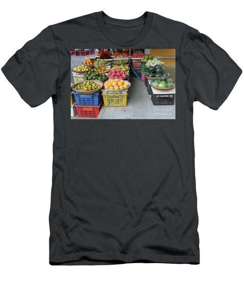 Fresh Veggies Fruit Streets Vietnam  Men's T-Shirt (Athletic Fit)