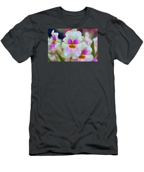 Friday Flowers Men's T-Shirt (Slim Fit) by Nadia Sanowar