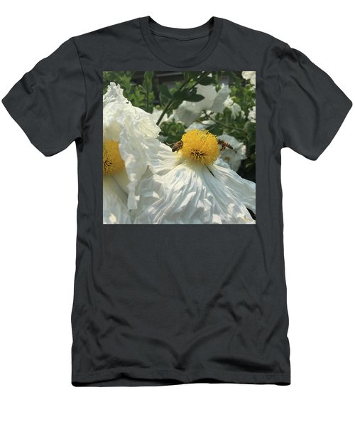 Men's T-Shirt (Athletic Fit) featuring the photograph Fried Egg Collectors by Rasma Bertz
