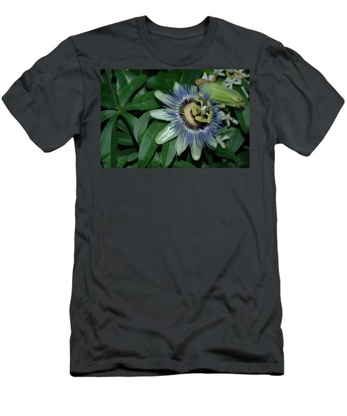 Fringed Color Men's T-Shirt (Athletic Fit)