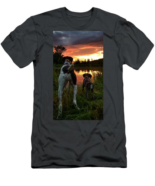 Frog Hunters 2 Men's T-Shirt (Athletic Fit)