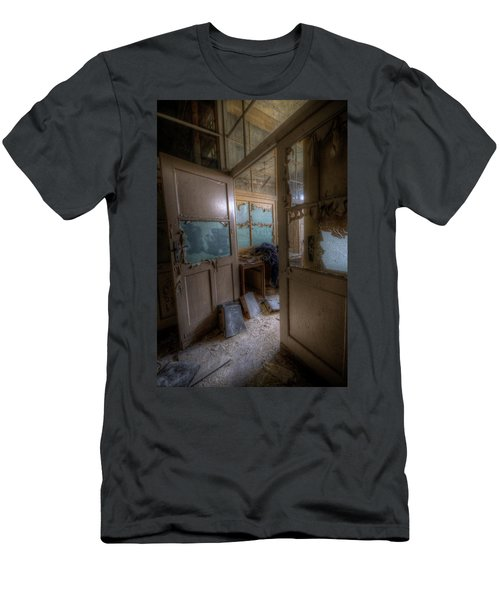 Men's T-Shirt (Slim Fit) featuring the digital art From Darkness by Nathan Wright