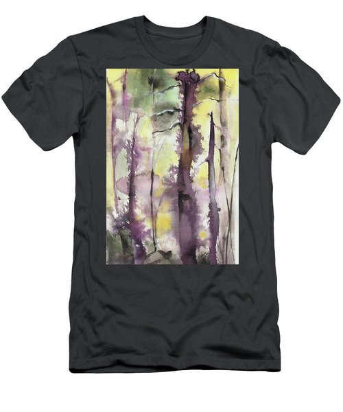 Men's T-Shirt (Slim Fit) featuring the painting From The Fire by Nadine Dennis