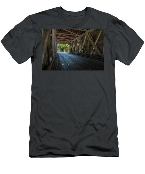 From The Inside Looking Out - Shimanek Bridge Men's T-Shirt (Athletic Fit)