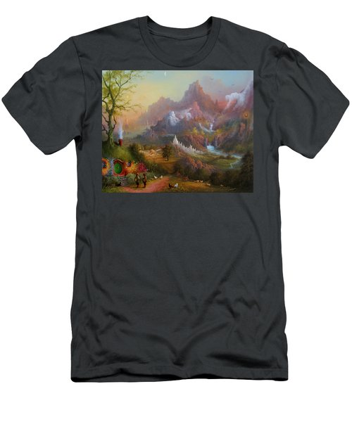 From The Shire To The Sea Men's T-Shirt (Slim Fit) by Joe  Gilronan