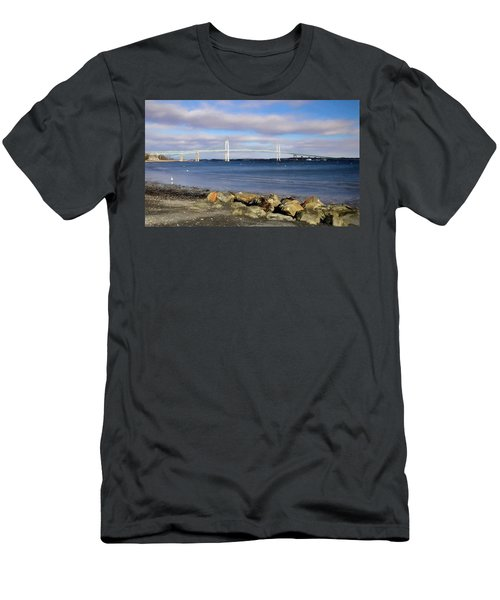 From The Shores Of Jamestown Men's T-Shirt (Athletic Fit)