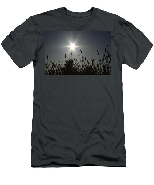Men's T-Shirt (Slim Fit) featuring the photograph From Where I Sit by Holly Ethan
