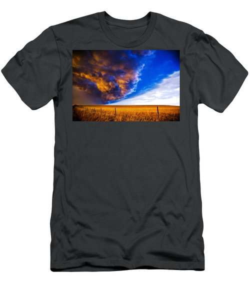 Front At Sunset 2 Of 2 Men's T-Shirt (Athletic Fit)