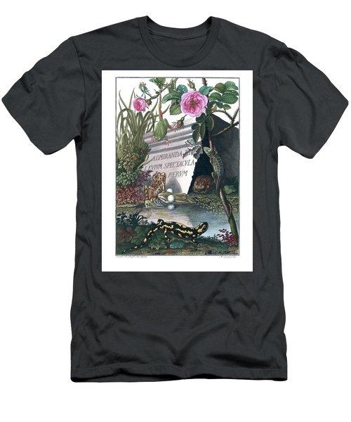Frontis Of Historia Naturalis Ranarum Nostratium Men's T-Shirt (Athletic Fit)