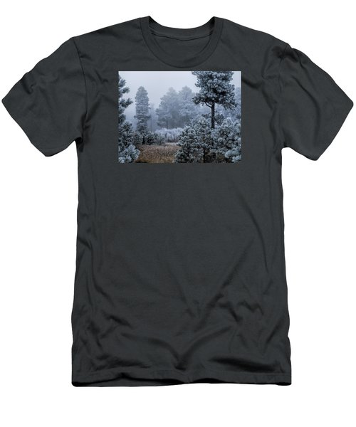 Frosted Men's T-Shirt (Slim Fit) by Alana Thrower