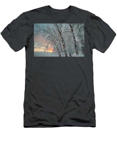 Frosty Sunrise Men's T-Shirt (Athletic Fit)