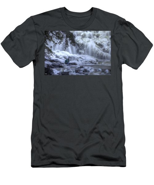 Frozen Falls Men's T-Shirt (Slim Fit)