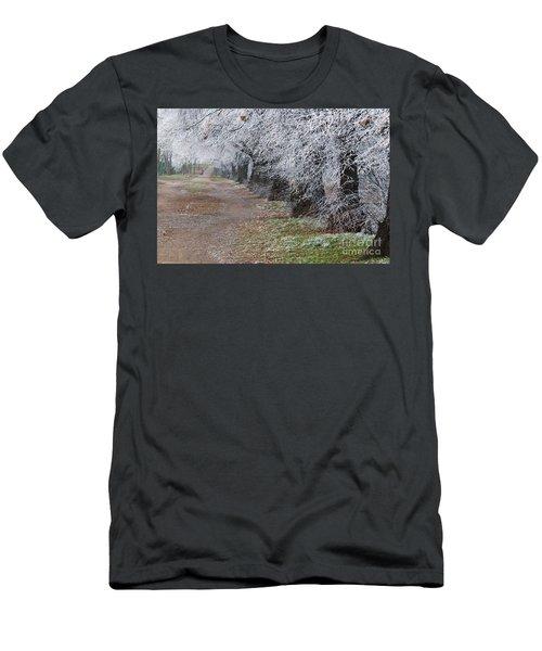 Frozen Pathway Men's T-Shirt (Athletic Fit)