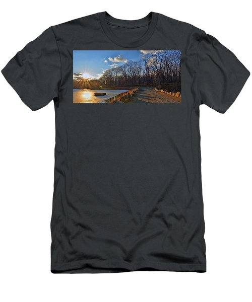 Frozen Sunset Men's T-Shirt (Slim Fit) by Jeffrey Friedkin