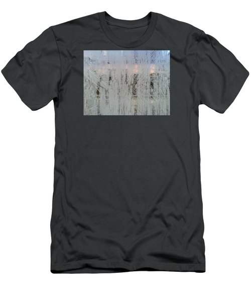 Frozen Window Men's T-Shirt (Athletic Fit)