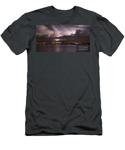 Ft Myers Nights Men's T-Shirt (Athletic Fit)