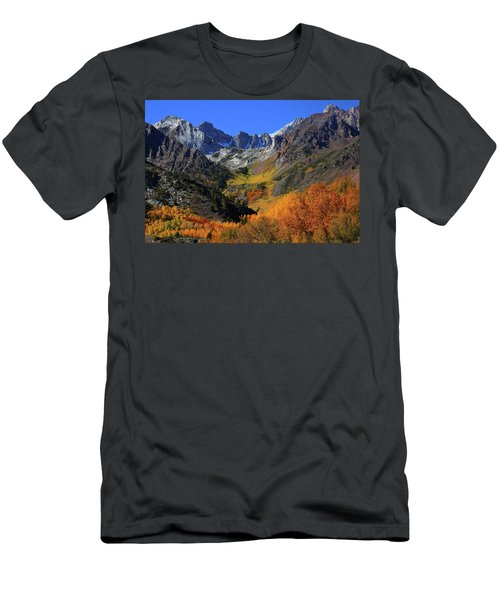 Full Autumn Display At Mcgee Creek Canyon In The Eastern Sierras Men's T-Shirt (Athletic Fit)